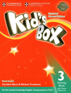 Kid's Box 2ed Activity Book with Online Resources Exam Update 3