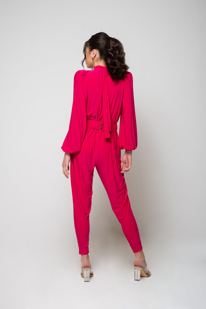 Sadie Jumpsuit - Hot Pink