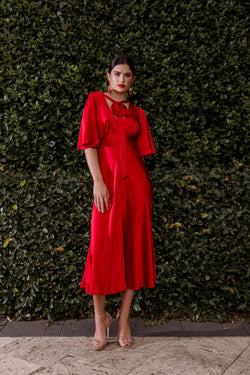 Isabella Dress - Poppy