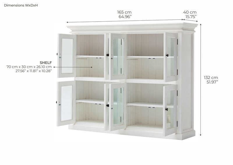 Halifax 2 Level Pantry with 8 Doors