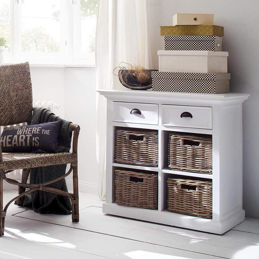 Halifax Small Buffet with Basket Set-Buffet-Hygge Home US