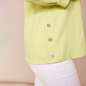 Sophia Star Top (Apple green)
