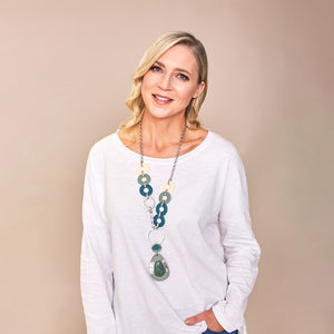 Denise Necklace (Green)