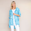 Lily Cotton Hoody Jacket (Blue)