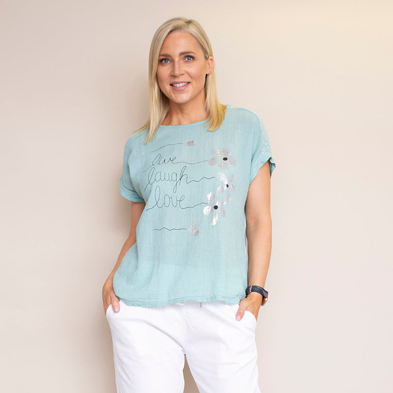 Linda T-Shirt (Mint)