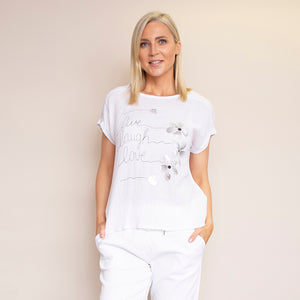 Linda T-Shirt (White)