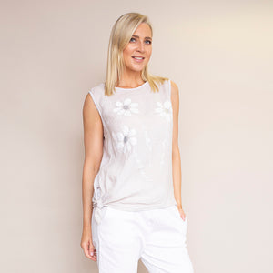 Laura Top (Beige)