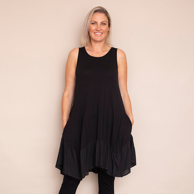 Sally Layering Top (Black)