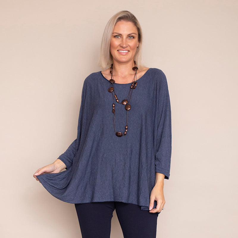 Aoife Top (Blue Marine)