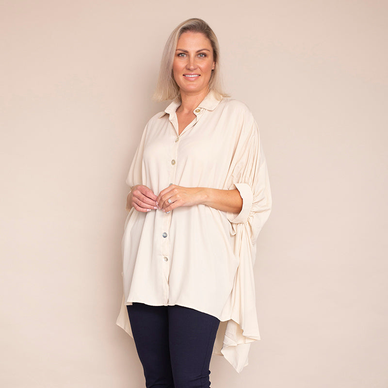 Reece Blouse (Cream)
