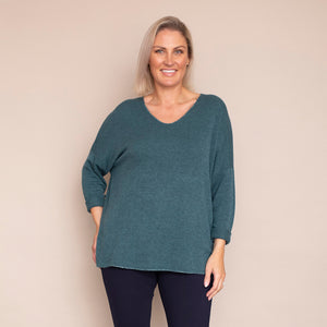 Vella Jumper (Teal)