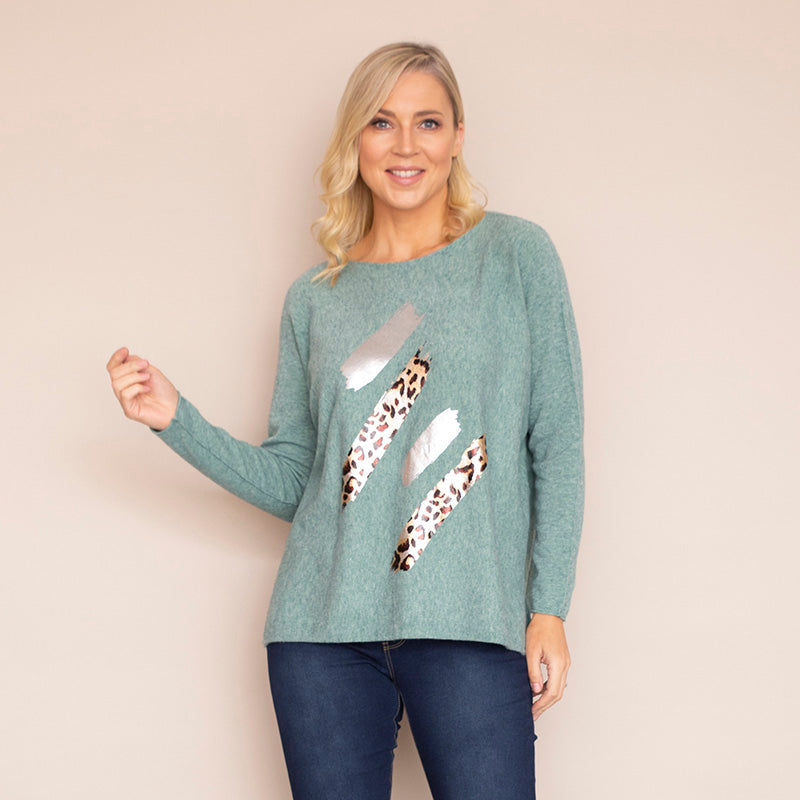 Tina Jumper (Sage Green)