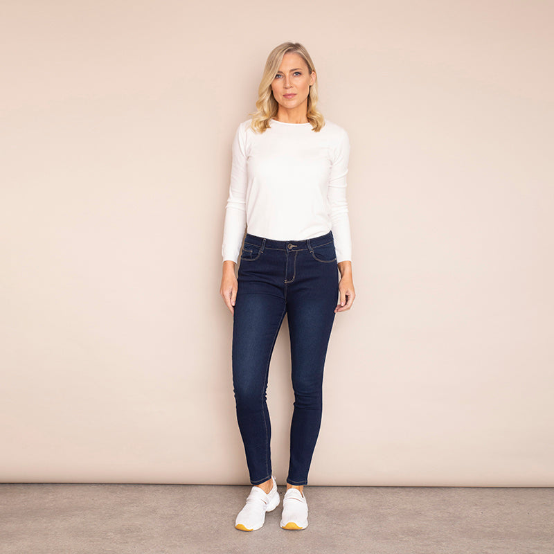 Angela Denim Trouser