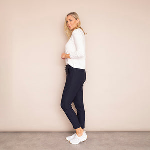 Bree Stretch Trousers (Marine)