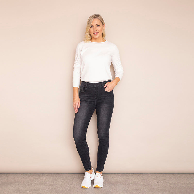Helena Denim Trouser