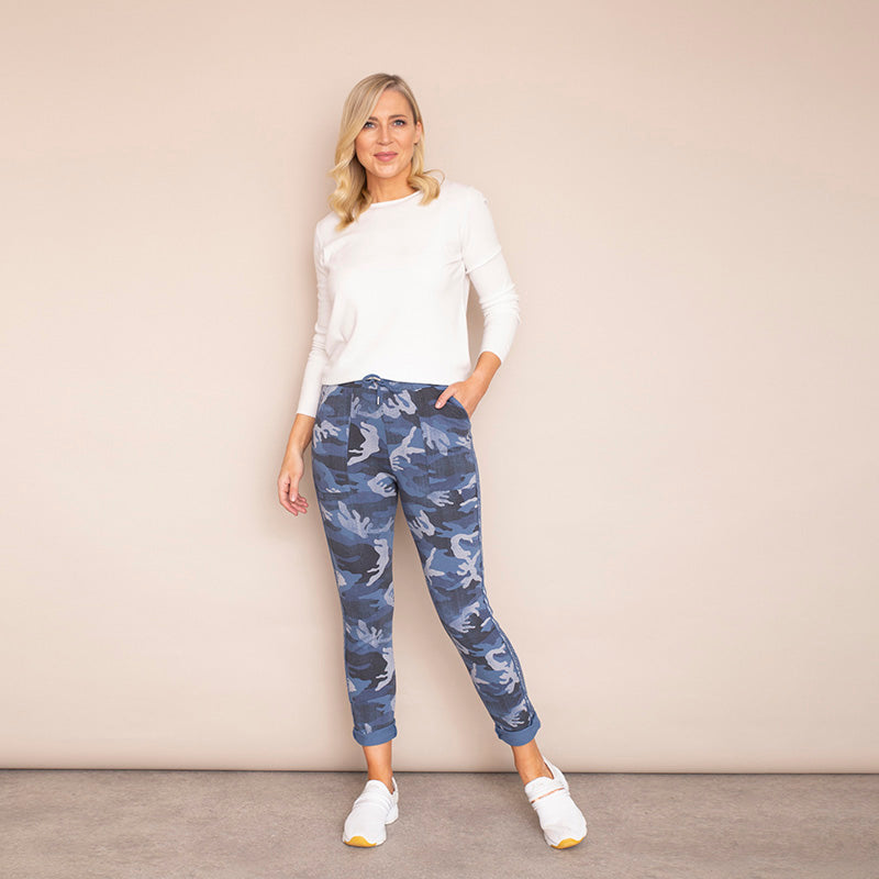 Sophie Joggers (Denim Blue)
