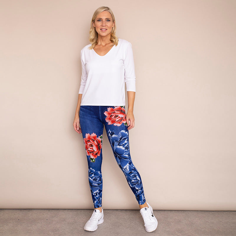 Rosie Leggings (Blue)
