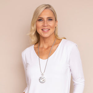 Lisa Long Diamonte Necklace