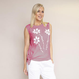 Laura Top (Raspberry)