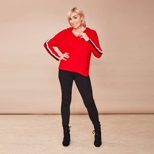 Hoody Jumper (Red)