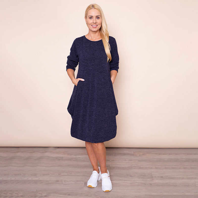 Fine Knit Balloon Dress