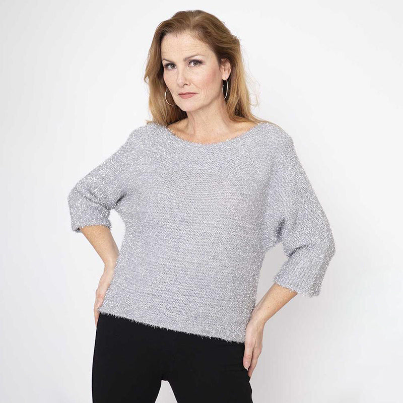 Glitter Round Neck Jumper