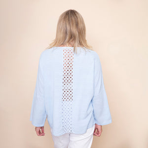 Lace Back Daisy Top