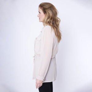 Military Style Shirt/Blouse