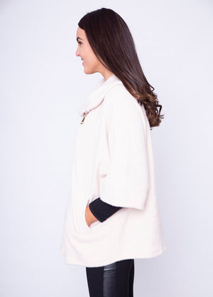 Side Zip Cardi Coat