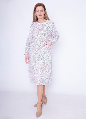 Tie Back Elena Pocket Floral Dress