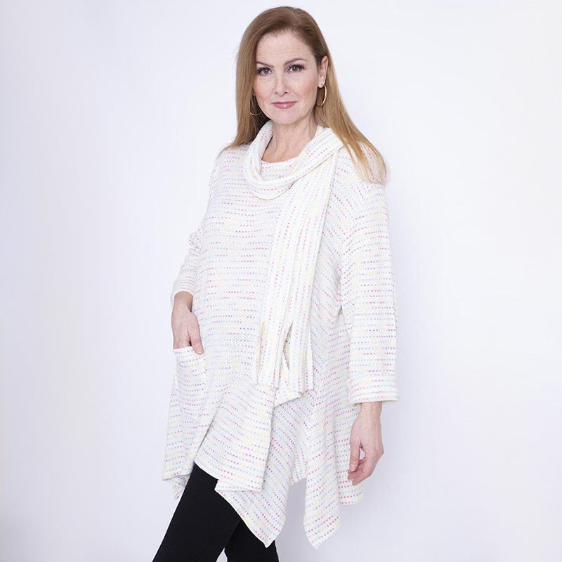 Tow Pocket Tunic & Scarf