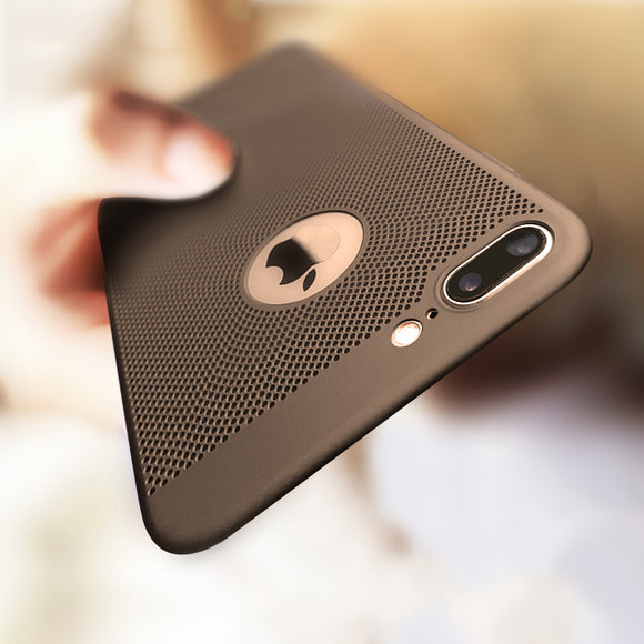Fashion Hollow Heat Dissipation Hard PC Case For iPhone 11/Pro/Max X XR XS MAX 8 7 6S 6/Plus