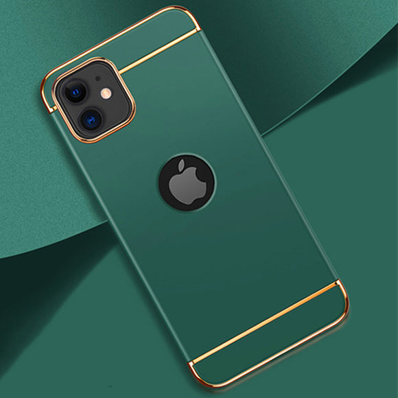 Hizada Luxury 3 IN 1 Matte Hard Case For iPhone 11/Pro/Max X XR XS MAX 8 7 6S 6/Plus