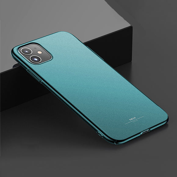 Fashion Green Color Ultra Thin Matte Case For iPhone 11/Pro/Max X XR XS MAX 8 7 6S 6/Plus