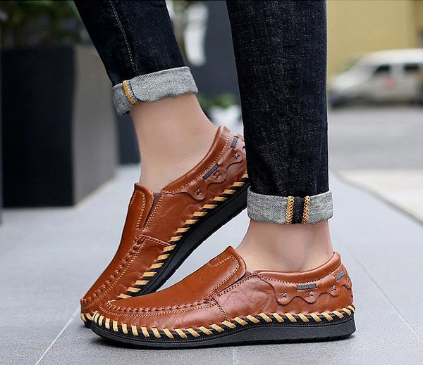 Shoes Men S Handmade Leather Driving Shoes Hizada