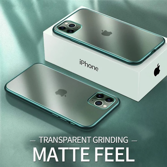 Luxury Ultra Thin Plating Matte Case For iPhone 11/Pro/Max 87 6S 6/Plus( Buy 2 Get 10% off, 3 Get 15% off )
