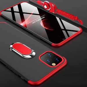 Luxury 360 Full Protection 3 IN 1 Case For iPhone 11/Pro/Max X XR XS MAX 8 7 6S 6/Plus