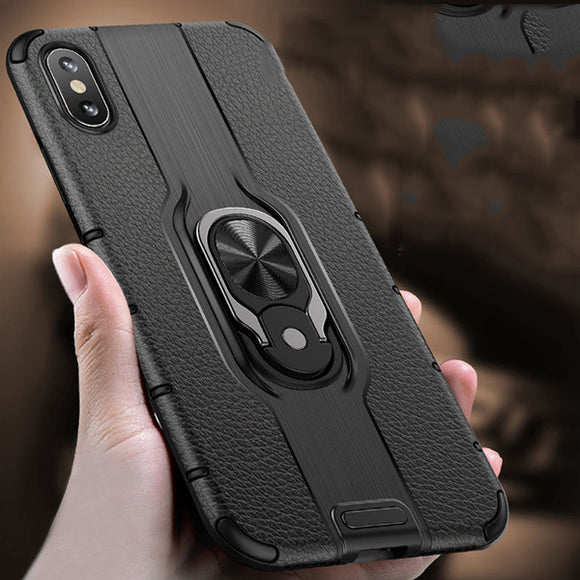 New Luxury Magnetic Ring Holder Case For iPhone X XR XS MAX 8 7 6S 6/Plus