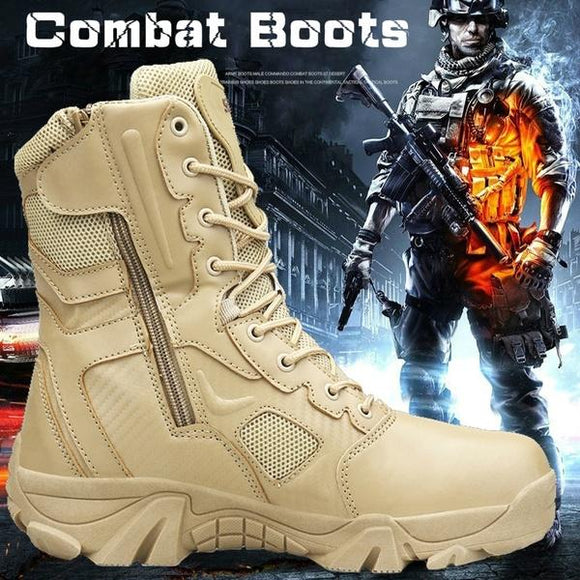 2019 Military Tactical Boots Desert Combat Outdoor Army Hiking Shoes