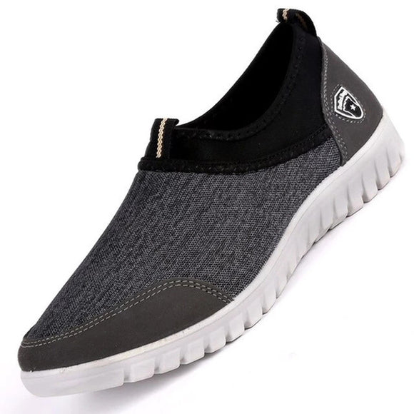 Fashion Men's Casual Canvas Slip On Shoes