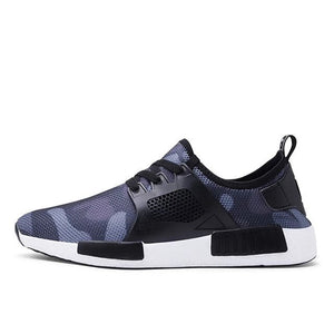 Plus Size Men's Mesh Breathable Casual Sneakers