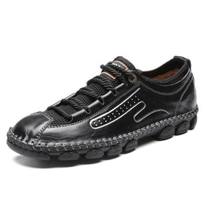 2020 Fashion Casual Men's Breathable Soft Leather Moccasins Shoes
