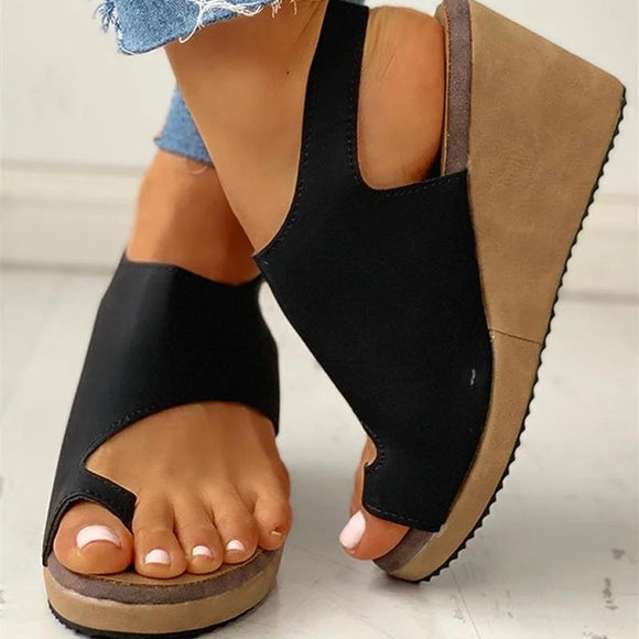 Fashion Women Casual Daily Summer Comfy Wedge Sandals