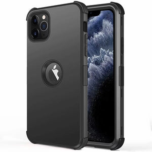 3 in 1 Hybrid Armor Case For iPhone 11/Pro/Max X XR XS MAX 8 7 6S 6/Plus