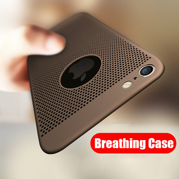 Ultra Thin Heat Dissipation Case For iPhone X XR XS MAX 8 7 6S 6/Plus