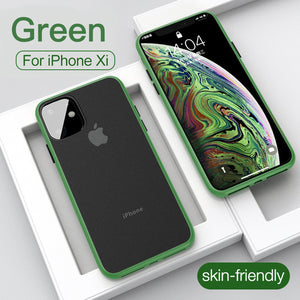 Luxury Ultra Thin Matte Shockproof Case For iPhone 11/Pro/Max X XR XS MAX 8 7 6S 6/Plus