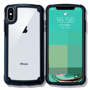 Luxury Shockproof Armor Transparent Case For iPhone 11/Pro/Max X XR XS MAX 8 7 6S 6/Plus