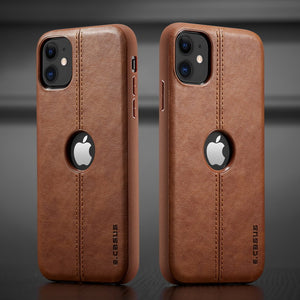 Hizada 2020 New Slim Luxury Leather Back Case For iPhone 11/Pro/Max X XR XS MAX 8 7 6S 6/Plus(Buy 2 Get 10% off, 3 Get 15% off)