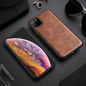 Luxury Retro Style Ultra Thin Leather Shockproof Case For iPhone 11/Pro/Max X XR XS MAX 8 7 6S 6/Plus