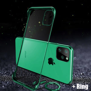 Luxury Ultra Thin Plating Frameless Case For iPhone 11/Pro/Max X XR XS MAX 8 7 6S 6/Plus